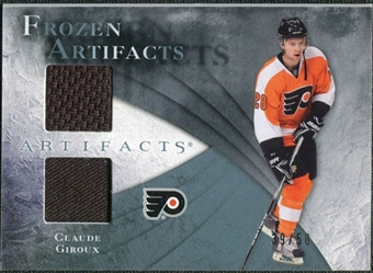2010/11 Upper Deck Artifacts Frozen Artifacts Jersey Patch Blue #FACG Claude Giroux /50
