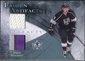 2010/11 Upper Deck Artifacts Frozen Artifacts Jersey Patch Blue #FADD Drew Doughty /50