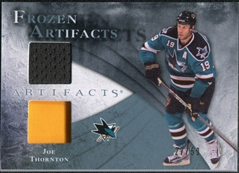 2010/11 Upper Deck Artifacts Frozen Artifacts Jersey Patch Blue #FAJT Joe Thornton /50