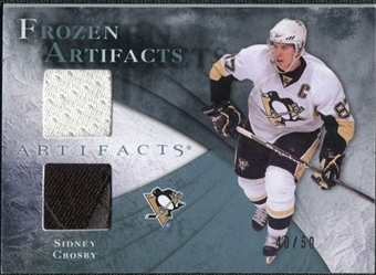 2010/11 Upper Deck Artifacts Frozen Artifacts Jersey Patch Blue #FASC Sidney Crosby /50