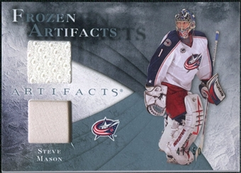 2010/11 Upper Deck Artifacts Frozen Artifacts Jersey Patch Blue #FASM Steve Mason /50