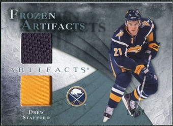 2010/11 Upper Deck Artifacts Frozen Artifacts Jersey Patch Blue #FAST Drew Stafford /50