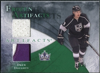 2010/11 Upper Deck Artifacts Frozen Artifacts Jersey Patch Emerald #FADD Drew Doughty 9/25