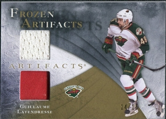 2010/11 Upper Deck Artifacts Frozen Artifacts Jersey Patch Gold #FAGL Guillaume Latendresse /15