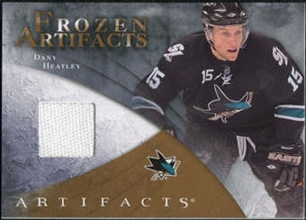 2010/11 Upper Deck Artifacts Frozen Artifacts Retail #FARDH Dany Heatley