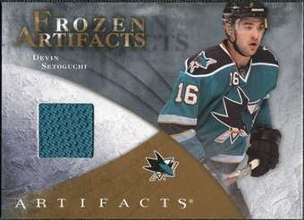 2010/11 Upper Deck Artifacts Frozen Artifacts Retail #FARDS Devin Setoguchi