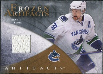 2010/11 Upper Deck Artifacts Frozen Artifacts Retail #FARHS Henrik Sedin