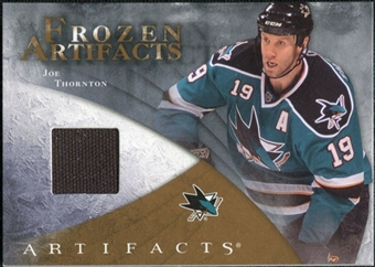 2010/11 Upper Deck Artifacts Frozen Artifacts Retail #FARJT Joe Thornton