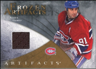 2010/11 Upper Deck Artifacts Frozen Artifacts Retail #FARSG Scott Gomez