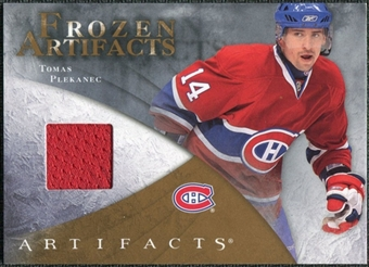 2010/11 Upper Deck Artifacts Frozen Artifacts Retail #FARTP Tomas Plekanec
