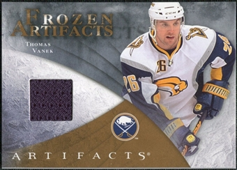2010/11 Upper Deck Artifacts Frozen Artifacts Retail #FARTV Thomas Vanek