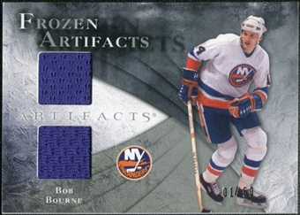 2010/11 Upper Deck Artifacts Frozen Artifacts Silver #FABB Bob Bourne /50