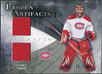 2010/11 Upper Deck Artifacts Frozen Artifacts Silver #FACP Carey Price /50