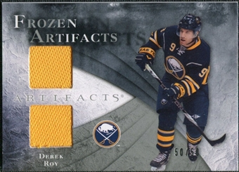 2010/11 Upper Deck Artifacts Frozen Artifacts Silver #FADR Derek Roy /50
