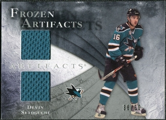 2010/11 Upper Deck Artifacts Frozen Artifacts Silver #FADS Devin Setoguchi 38/50