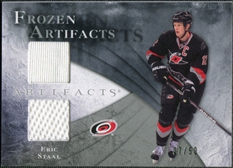 2010/11 Upper Deck Artifacts Frozen Artifacts Silver #FAES Eric Staal 7/50