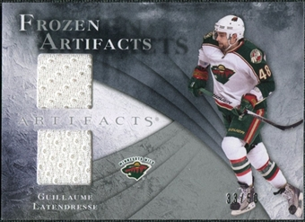 2010/11 Upper Deck Artifacts Frozen Artifacts Silver #FAGL Guillaume Latendresse /50