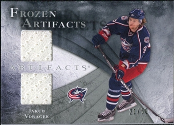 2010/11 Upper Deck Artifacts Frozen Artifacts Silver #FAJV Jakub Voracek 21/50