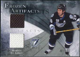 2010/11 Upper Deck Artifacts Frozen Artifacts Silver #FAMS Martin St. Louis /50
