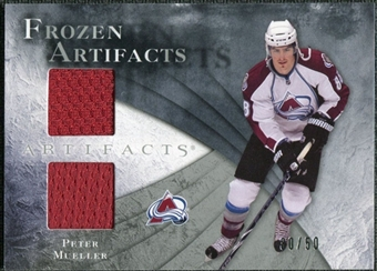 2010/11 Upper Deck Artifacts Frozen Artifacts Silver #FAMU Peter Mueller /50