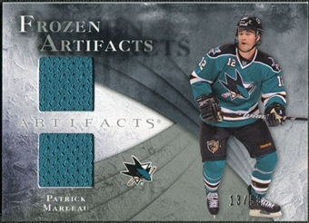 2010/11 Upper Deck Artifacts Frozen Artifacts Silver #FAPM Patrick Marleau 13/50