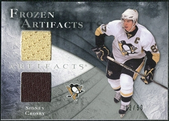 2010/11 Upper Deck Artifacts Frozen Artifacts Silver #FASC Sidney Crosby 12/50
