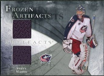2010/11 Upper Deck Artifacts Frozen Artifacts Silver #FASM Steve Mason 13/50