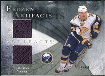 2010/11 Upper Deck Artifacts Frozen Artifacts Silver #FATV Thomas Vanek /50