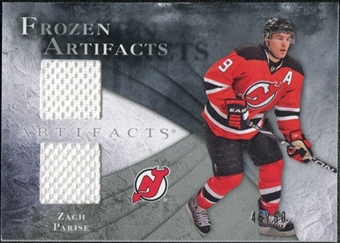 2010/11 Upper Deck Artifacts Frozen Artifacts Silver #FAZP Zach Parise /50
