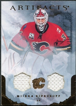 2010/11 Upper Deck Artifacts Jerseys Bronze #8 Miikka Kiprusoff /150