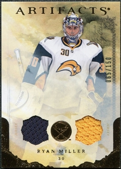2010/11 Upper Deck Artifacts Jerseys Bronze #11 Ryan Miller 65/150