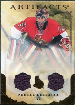 2010/11 Upper Deck Artifacts Jerseys Bronze #14 Pascal Leclaire 144/150