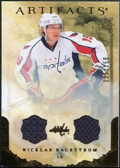 2010/11 Upper Deck Artifacts Jerseys Bronze #17 Nicklas Backstrom /150