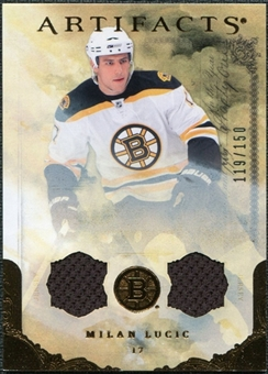 2010/11 Upper Deck Artifacts Jerseys Bronze #45 Milan Lucic 119/150