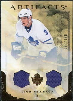2010/11 Upper Deck Artifacts Jerseys Bronze #47 Dion Phaneuf /150
