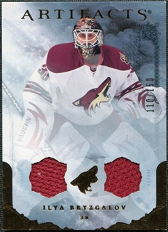 2010/11 Upper Deck Artifacts Jerseys Bronze #60 Ilya Bryzgalov 110/150