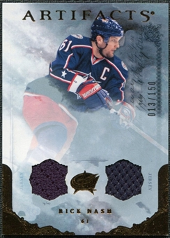 2010/11 Upper Deck Artifacts Jerseys Bronze #69 Rick Nash 13/150