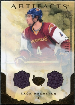 2010/11 Upper Deck Artifacts Jerseys Bronze #71 Zach Bogosian 132/150