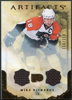 2010/11 Upper Deck Artifacts Jerseys Bronze #83 Mike Richards /150