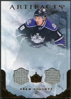 2010/11 Upper Deck Artifacts Jerseys Bronze #88 Drew Doughty 111/150