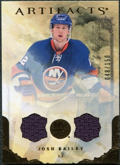 2010/11 Upper Deck Artifacts Jerseys Bronze #94 Josh Bailey 48/150