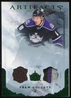 2010/11 Upper Deck Artifacts Jerseys Patches Emerald #88 Drew Doughty 19/50