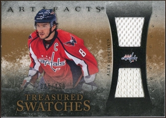 2010/11 Upper Deck Artifacts Treasured Swatches #TSAO Alexander Ovechkin /150