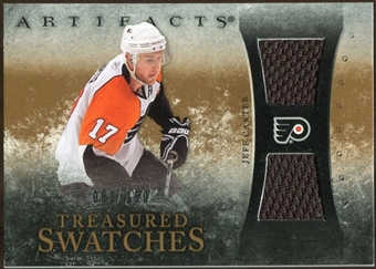 2010/11 Upper Deck Artifacts Treasured Swatches #TSJC Jeff Carter /150