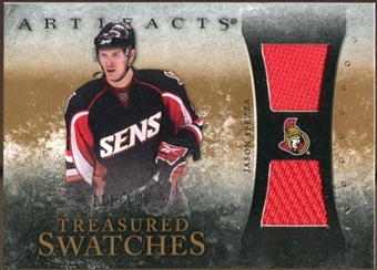 2010/11 Upper Deck Artifacts Treasured Swatches #TSJS Jason Spezza /150