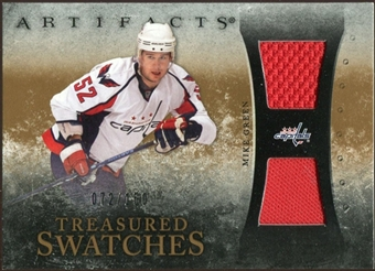 2010/11 Upper Deck Artifacts Treasured Swatches #TSMG Mike Green /150