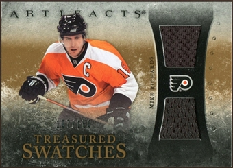 2010/11 Upper Deck Artifacts Treasured Swatches #TSMR Mike Richards /150
