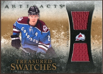 2010/11 Upper Deck Artifacts Treasured Swatches #TSPS Paul Stastny /150