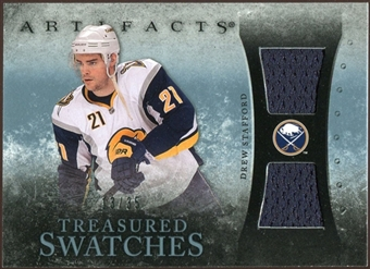 2010/11 Upper Deck Artifacts Treasured Swatches Blue #TSDS Drew Stafford 13/35