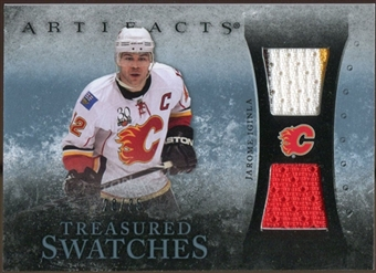 2010/11 Upper Deck Artifacts Treasured Swatches Blue #TSJI Jarome Iginla 28/35